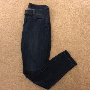 Ann Taylor dash wash skinny jeans